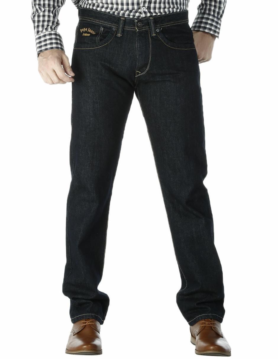 Pantalon Pepe Jeans Corte Straight Azul En Liverpool