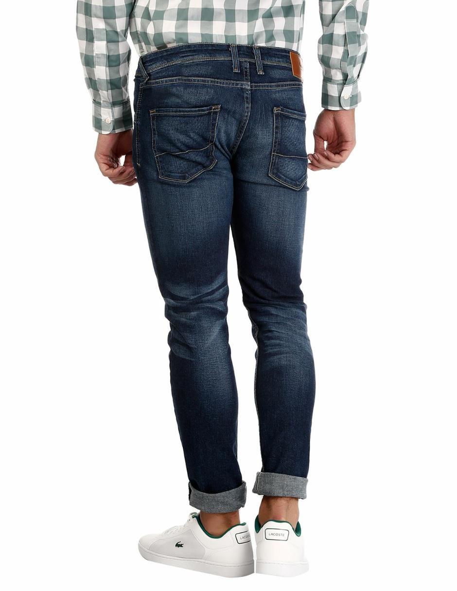 Jeans Straight Corte Pantalón Pepe Azul 4zUqS