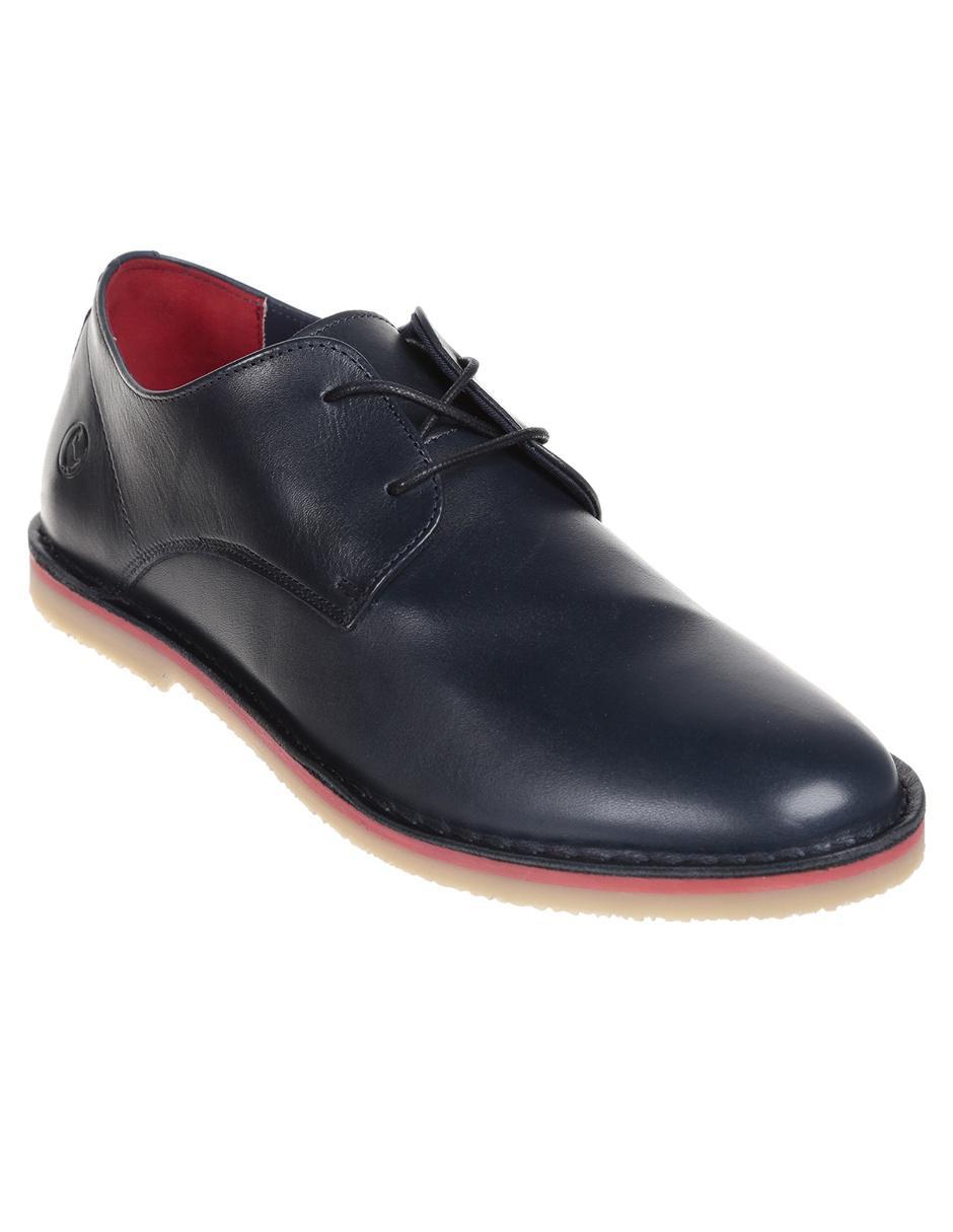 mejor venta clásico barato mejor valorado Zapato derby El Ganso piel azul marino
